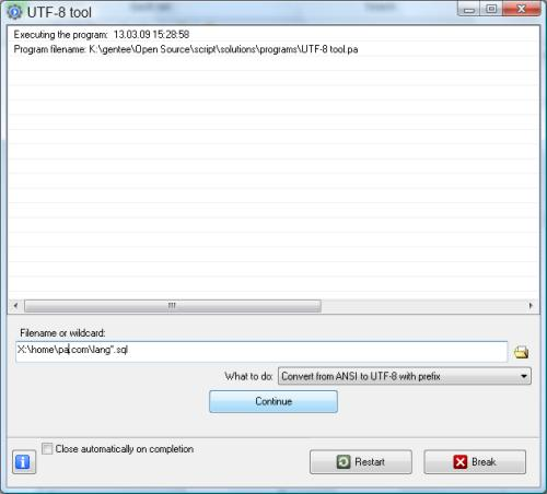utf-8 download